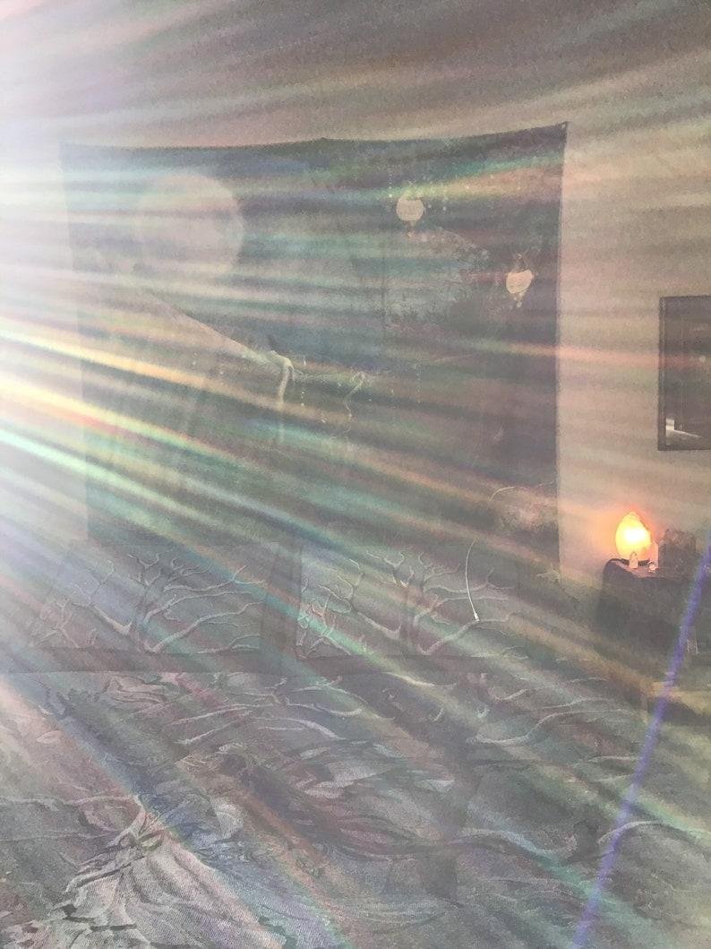 Sparkly Heart 40mm Prism Suncatcher ~Rainbow Maker ~Magical Amethyst ~Aventurine ~Agate ~Rose Quartz ~Metallic Faceted Glass ~Healing Energy