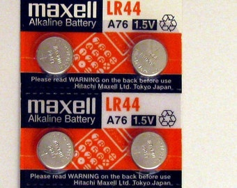 Add batteries to your pet safety lights: AG13 LR44 L1154 357 A76 battery button cell batteries; Maxell or Motobatt for LED safety lights