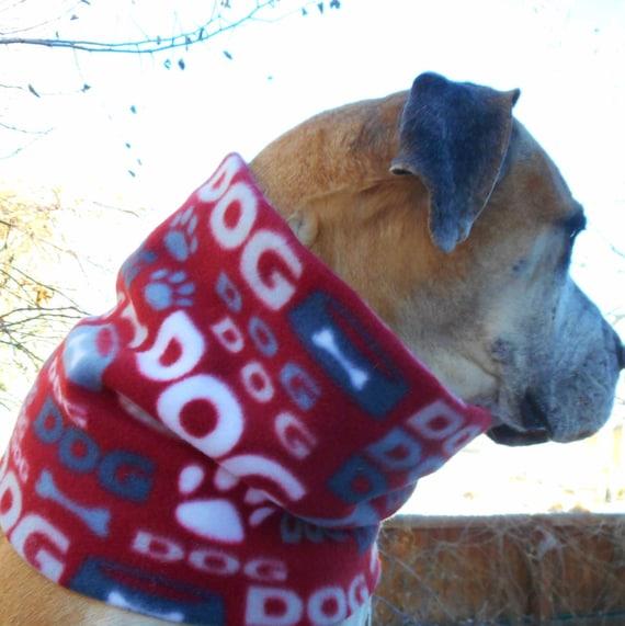 cowl or neck gaiter; large scarves Big dog fleece neck warmer; warm winter dog snood; Colorado scarf toasty warm /& wide