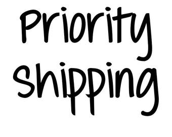 Priority Mail 1-2 Shipping