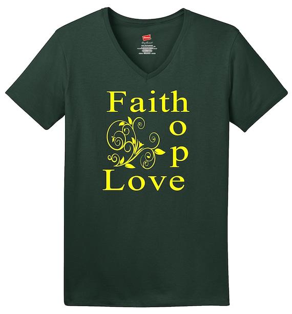 Toddler Faith Hope Love ComfortSoft Long Sleeve Tee