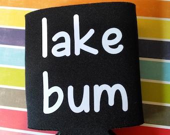Lake Bum Can Cooler
