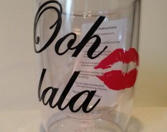 Ooh lala Wine Tumbler with lips