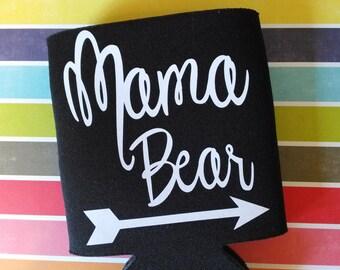 Mama Bear Can Cooler
