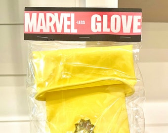 Power Glove, comics superhero gems stone white elephant gag gift funny weird cosplay party Christmas for him ugly sweater