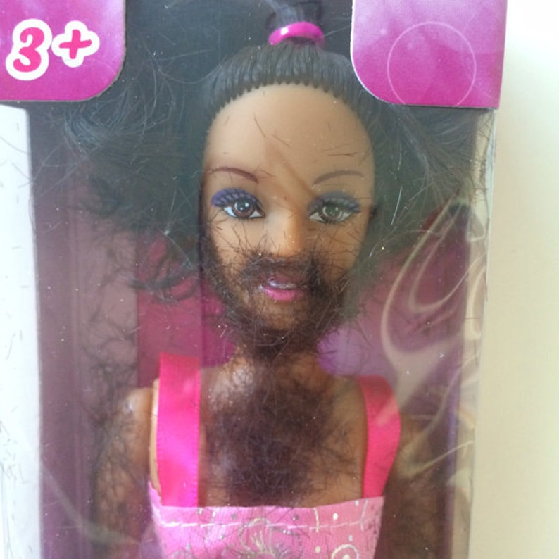 The Original Shave and Play Barbie white elephant gift adult image 0