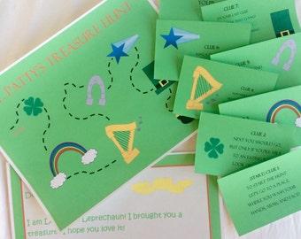 St. Patrick's Day Printable Scavenger Hunt