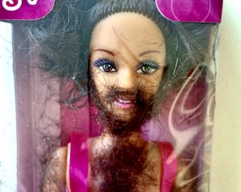 Shave & Play Borbie (Barbie wannabe) gift present ornament Christmas toy game gag joke funny weird prank company boss coworker friend him