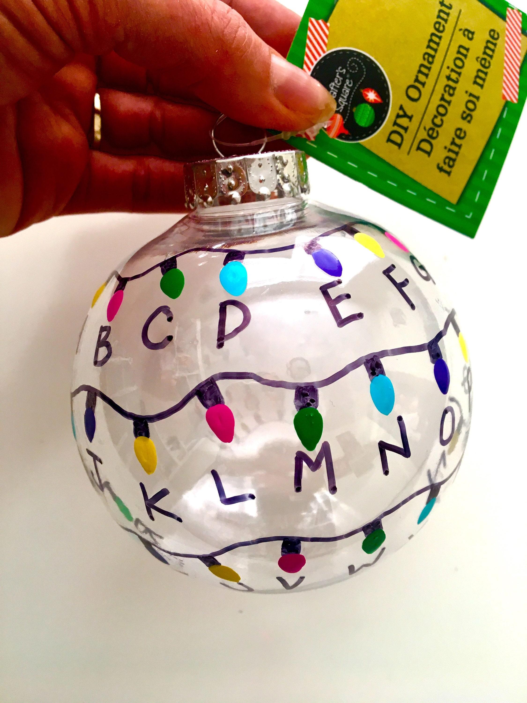 Fremde Dinge Ornament Geschenk lights Weihnachten Baum | Etsy