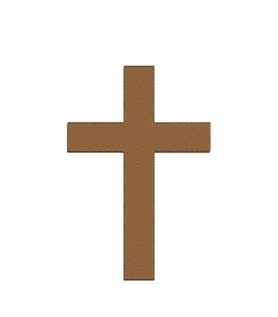 Croix Religieuse Chretienne Catholique Machine Broderie Etsy