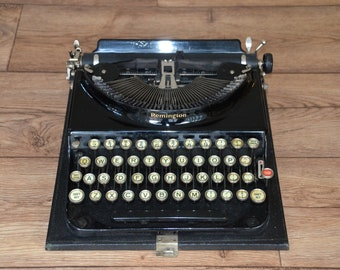Stunning Typewriter - Antique 1920's Remington Portable 3 - Fully Serviced - Working Perfectly