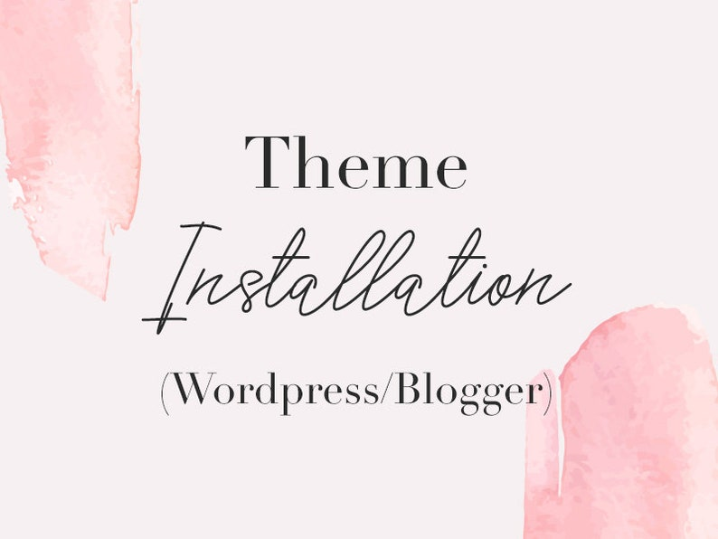 Theme Installation for Blogger  Blogspot Template image 0