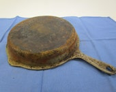 Vintage Cast Iron Nickel Plated 1401-C Sidney Wagner Fryer Lid