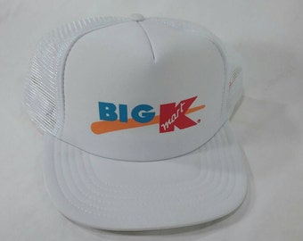 Kmart etsy vintage big k kmart store trucker cap hat stopboris Image collections