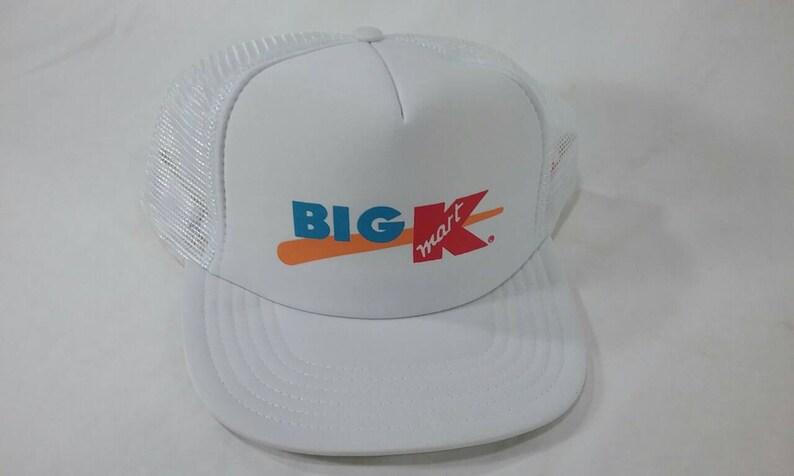 612c18d8d58 Vintage big K Kmart store trucker cap hat
