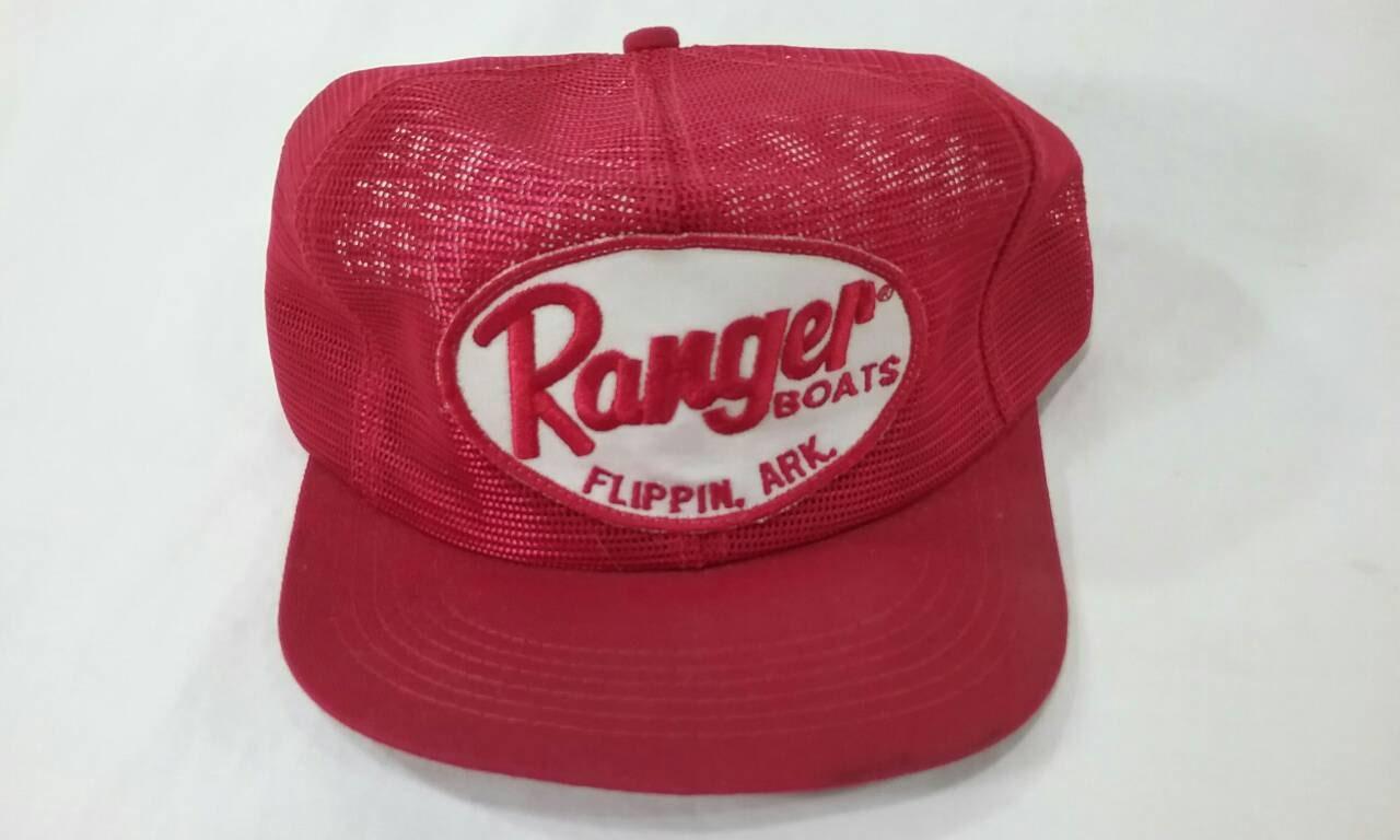 5d772c7b4db Vintage ranger boats flippin Arkansas trucker cap hat mesh