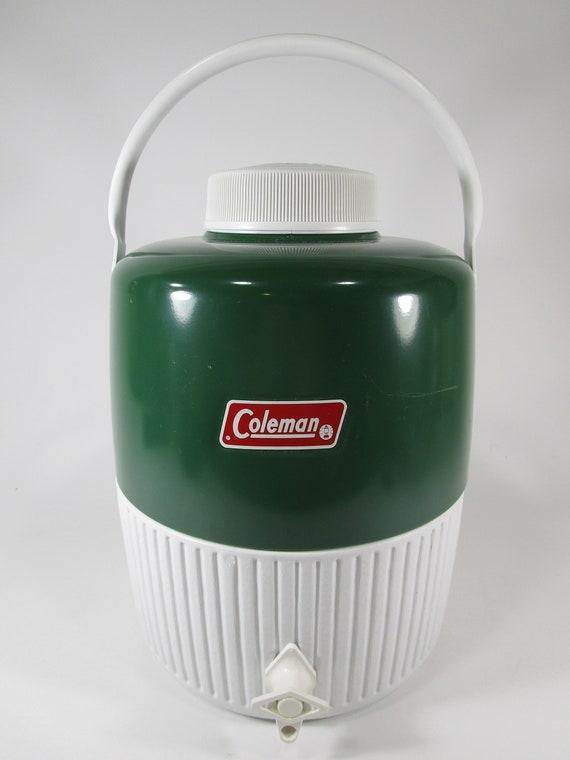 coleman water jug vintage