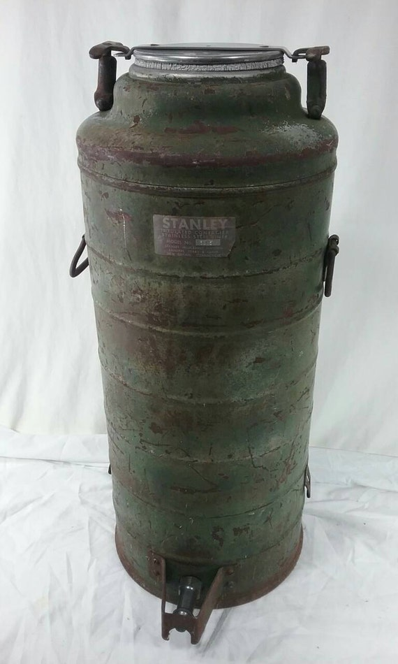 Large vintage army Stanley thermos coffee dispenser model no. | Etsy