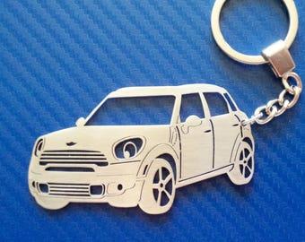 Mini Cooper Keychain Etsy