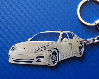 Moderate Price Keychains New 3d Porsche 934.5 Custom Keychain Keyring Key White Racing Finish Bling!!