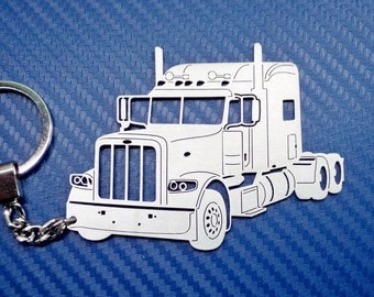 B5 White Truck Tribute Keychain