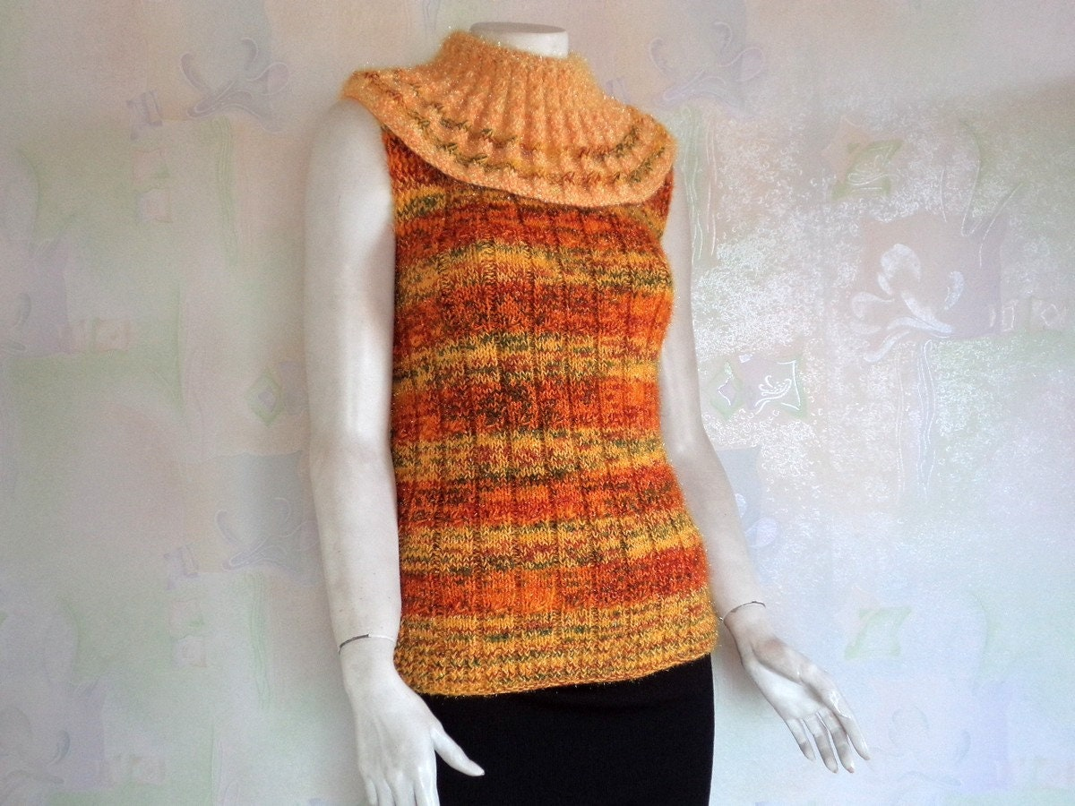 db0d3dfaf6094 Sleeveless Turtleneck Sweater