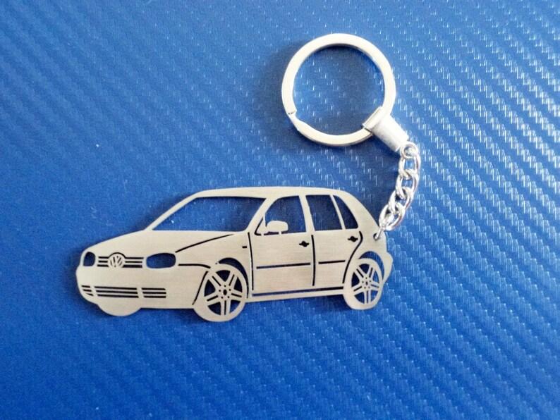 """Genuine VW /""""UP!/"""" Engraved Model Keyring"""