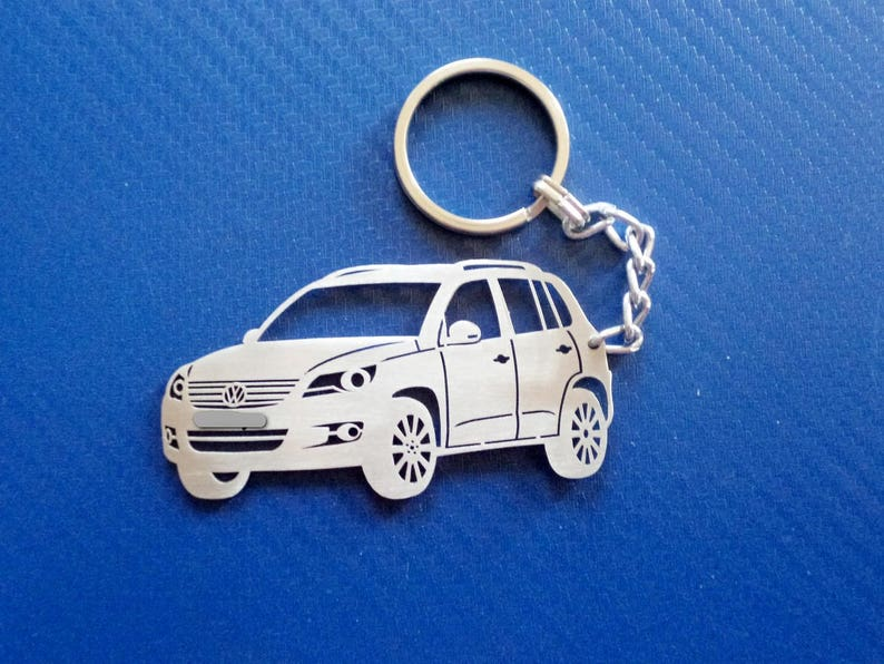 Key chain for VW Tiguan, Personalized Keyring, Car Keychain, Keyring for VW  Tiguan, Custom Keychain, Personalized Gift, Birthday Gift