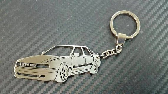 Audi 80 Sport Edition Key Chain Car Keychain Personalized Etsy