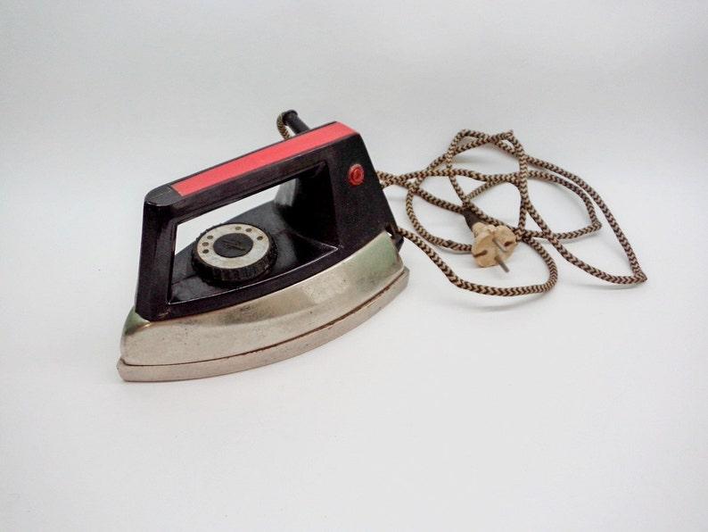 Soviet Era Vintage Soviet Iron USSR  1980/'s Vintage Electrical Clothing Iron Working Condition Vintage household
