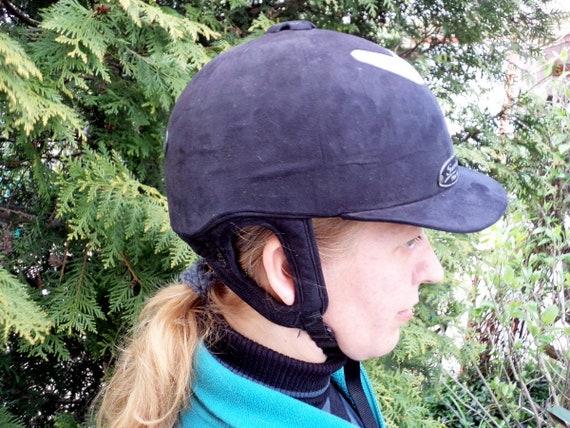 Black riding hard