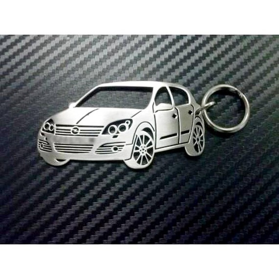 opel astra c key chain trousseau de cl s de voiture etsy. Black Bedroom Furniture Sets. Home Design Ideas