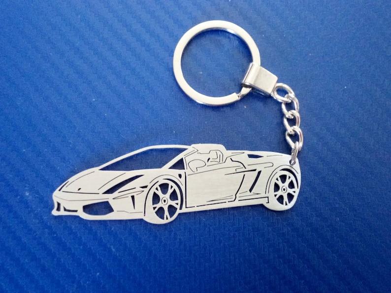 Key Chain For Lamborghini Car Keychain Keyring For Etsy