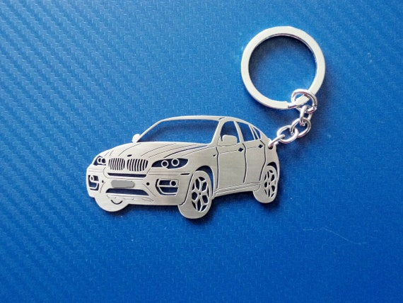 Key chain similar to BMW X6, Personalized Keychain, Car Keychain, Keyring for BMW X6, Custom Keychain, Personalised Gift, Birthday gift