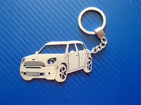 Mini Cooper Countryman Key Chain Personalized Keychain Car Etsy
