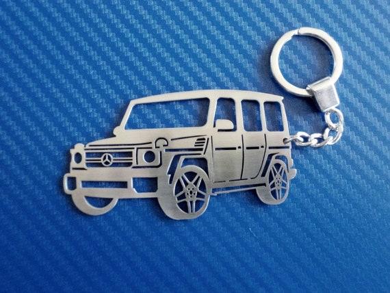 Sleutelhanger Voor Mercedes G Class Auto Sleutelhanger Etsy
