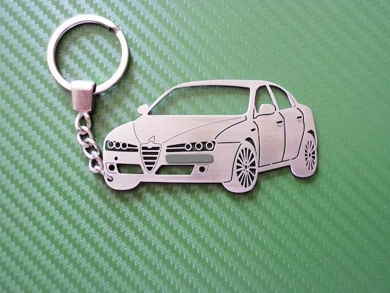 ALFA ROMEO HIGH QUALITY METAL CAR KEYRING gift box