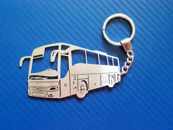 Key chain for Mercedes Bus Personalized Keychain Bus  de75ddb65