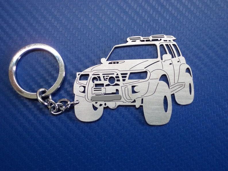 Key chain for Patrol Y61, Keyring for Nissan Patrol, Personalized Keychain,  Car Keychain, Custom Keychain, Personalised Gift, Birthday Gift