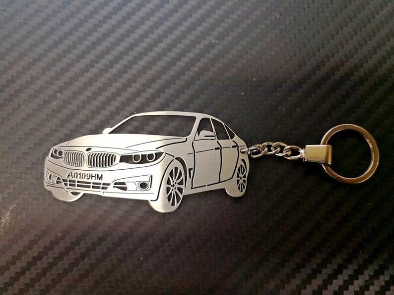 Key Chain For BMW 3 GT Personalized Car Keychain Keyring