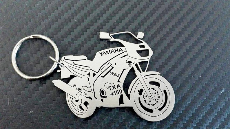 Key chain for Yamaha FZR 500, Bike Keychain, Personalized Keychain  Motorcycle Yamaha, Custom Keychain, Personalized Gift, Gift for Boyfriend