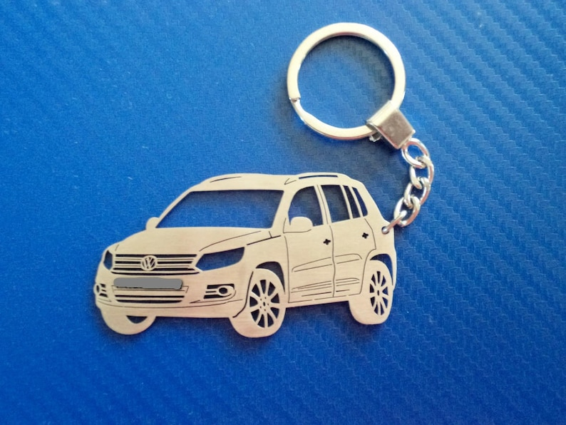 Key chain for VW Tiguan 2012, Personalized Keyring, Car Keychain, Keyring  for VW Tiguan, Custom Keychain, Personalized gift, Birthday gift