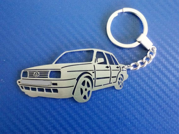 Key chain for VW Jetta old Personalized Keychain Car  dccba848d89a