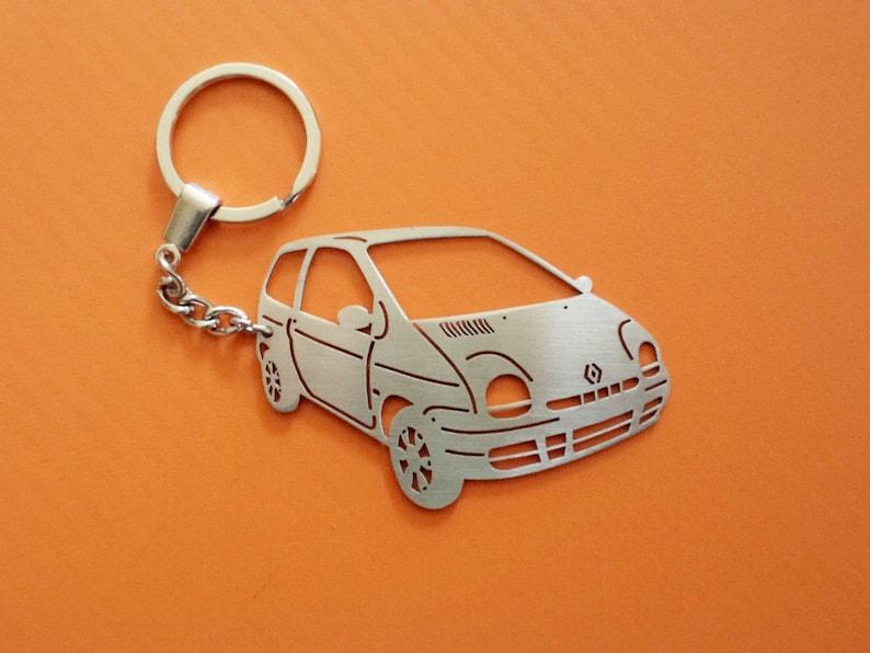 Porte-clés pour Renault Twingo porte-clé personnalisé, porte clé de  voiture, porte-clé personnalisé, cadeau personnalisé, cadeau  d'anniversaire, ...