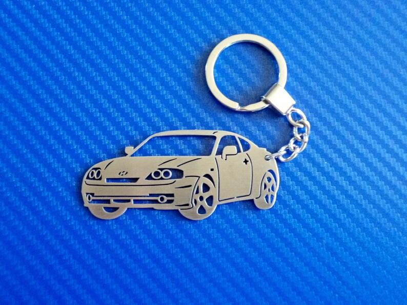 Hyundai Coupe Key chain Personalized Car Keychain Hyundai  709821fd725d