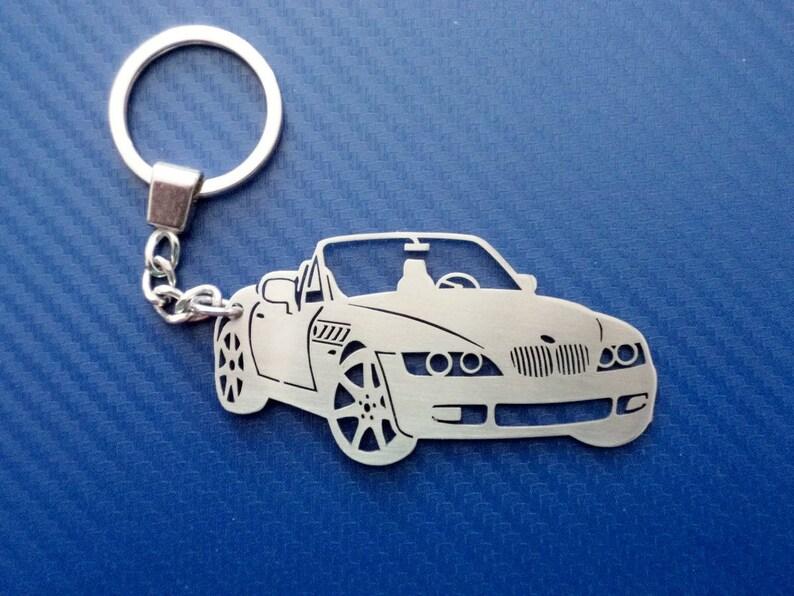 Key chain for BMW Z3 Car Keychain Keyring for BMW Z3 Custom  076529eae186