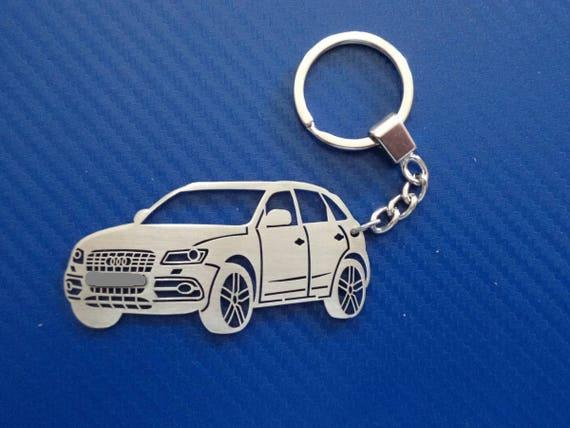 Audi Sq5 Key Chain Personalized Keychain Car Keychain Etsy