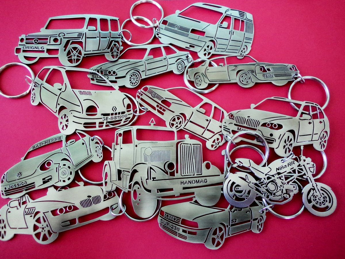 Mini Cooper Countryman Key Chain Personalized Keychain Car