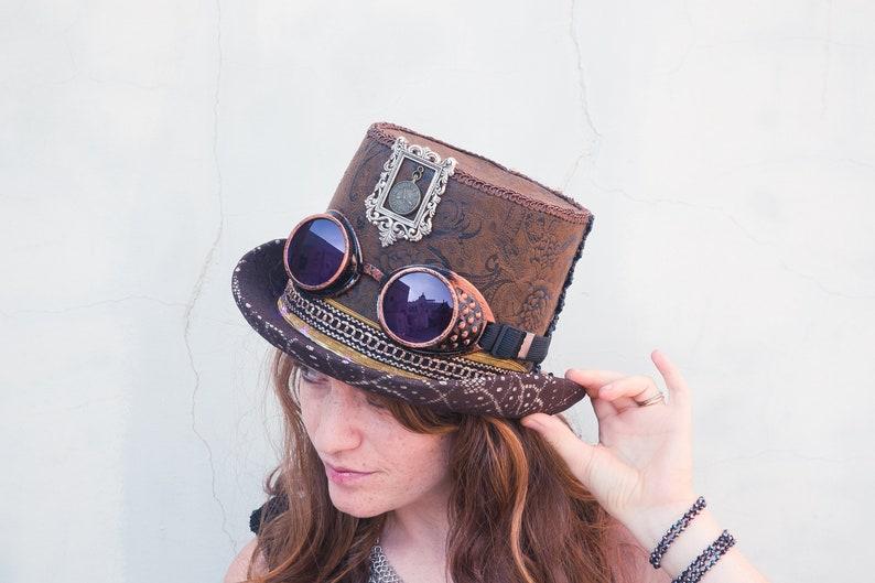 144c03d8c9d Steampunk Hat Hat for man Festival Hat Formal Hat | Etsy