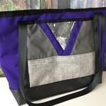 Large Purple Crystal Glitter Tote Shoulder Bag